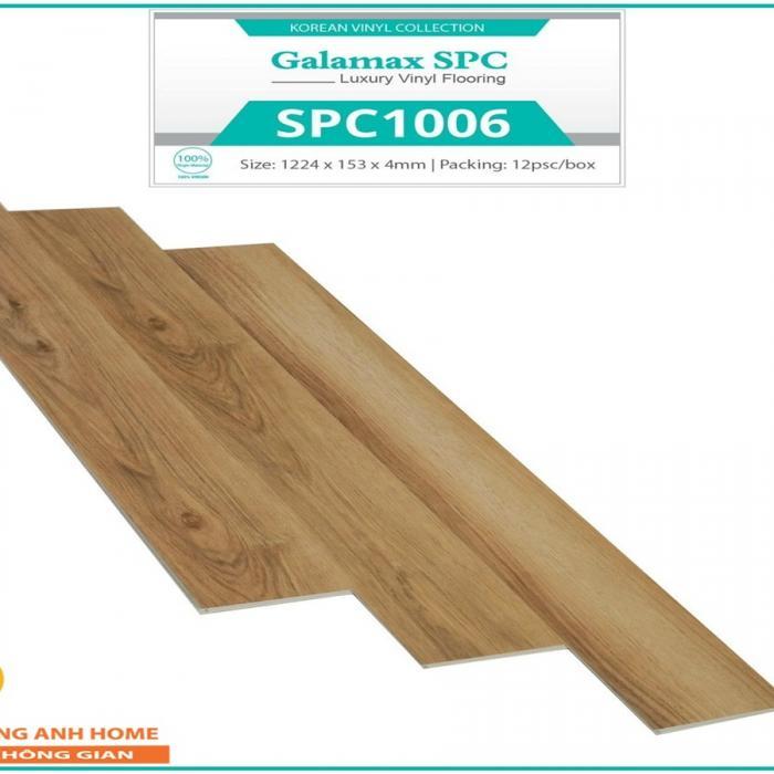 Sàn nhựa SPC Glamax SPC 1006 4mm