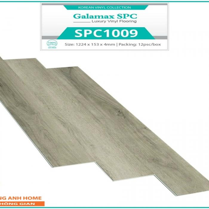 Sàn nhựa SPC Glamax SPC 1009 4mm